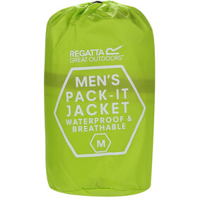 Regatta Pack It III Jas Heren, lime punch